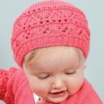 photo tricot modèle tricot gratuit bonnet bébé 10