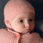 photo tricot modèle tricot gratuit bonnet bébé 12
