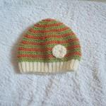 photo tricot modèle tricot gratuit bonnet bébé 8