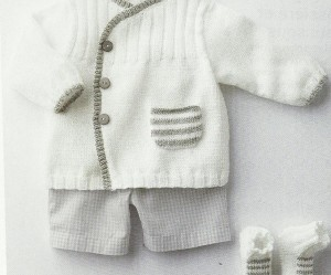 photo tricot modèle tricot gratuit layette 18