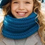 photo tricot modèle tricot gratuit snood 11