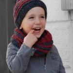 photo tricot modèle tricot gratuit snood 13