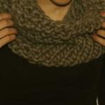 photo tricot modèle tricot gratuit snood 17