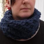 photo tricot modèle tricot gratuit snood 7