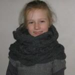 photo tricot modèle tricot gratuit snood 9