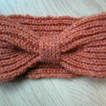 photo tricot modèle tricot headband 14