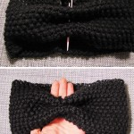 photo tricot modèle tricot headband 15