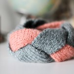photo tricot modèle tricot headband 17