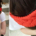 photo tricot modèle tricot headband 5
