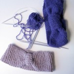 photo tricot modèle tricot headband 6