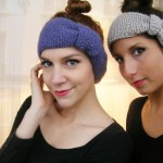 photo tricot modèle tricot headband 9