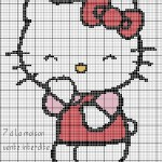 photo tricot modèle tricot hello kitty livre 8