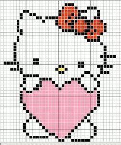 photo tricot modèle tricot hello kitty livre