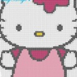 photo tricot modèle tricot hello kitty ups 14