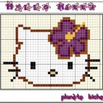 photo tricot modèle tricot hello kitty ups 6