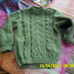 photo tricot modèle tricot irlandais gratuit 10