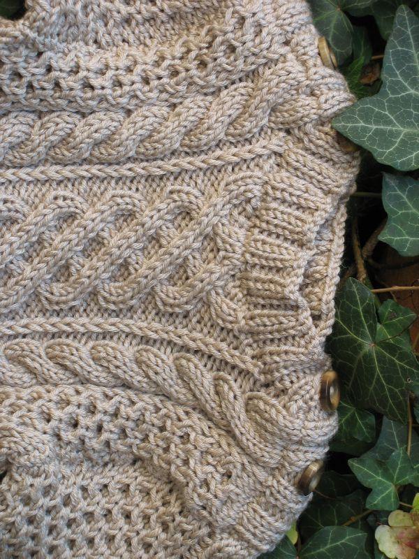 Comment tricoter une torsade  Nos Conseils