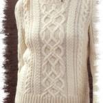 photo tricot modèle tricot irlandais gratuit 5