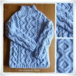 photo tricot modèle tricot irlandais gratuit 9