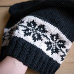 photo tricot modèle tricot jacquard 15