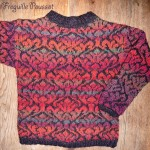 photo tricot modèle tricot jacquard 17