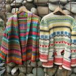 photo tricot modèle tricot jacquard norvégien 11