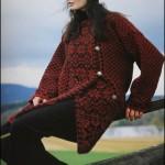 photo tricot modèle tricot jacquard norvégien 16