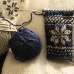 photo tricot modèle tricot jacquard norvégien 7