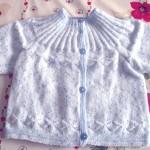 photo tricot modèle tricot jersey qui tourne 16