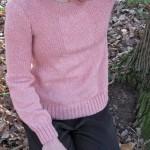 photo tricot modèle tricot jersey qui tourne 3