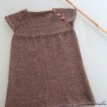 photo tricot modèle tricot jupe bébé 10