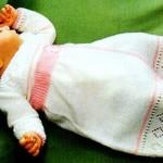 photo tricot modèle tricot jupe bébé 11
