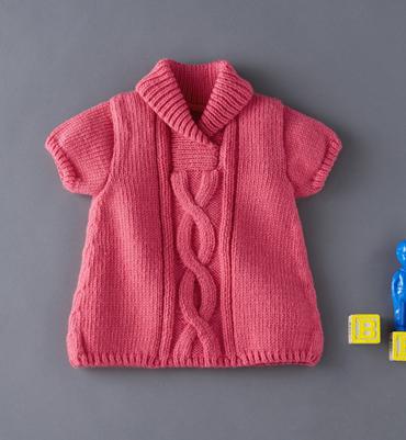 photo tricot modèle tricot jupe bébé 12