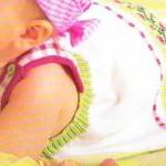 photo tricot modèle tricot jupe bébé 13