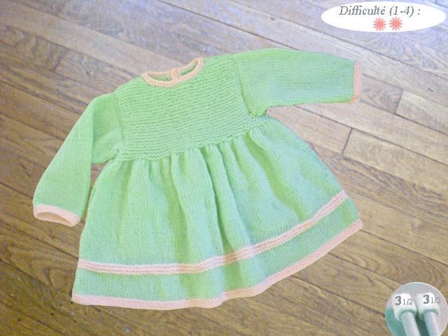 Comment tricoter jupe pour bebe - kids-tricotsfr