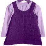 photo tricot modèle tricot jupe bébé 15