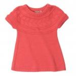 photo tricot modèle tricot jupe bébé