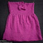 photo tricot modèle tricot jupe bébé 16
