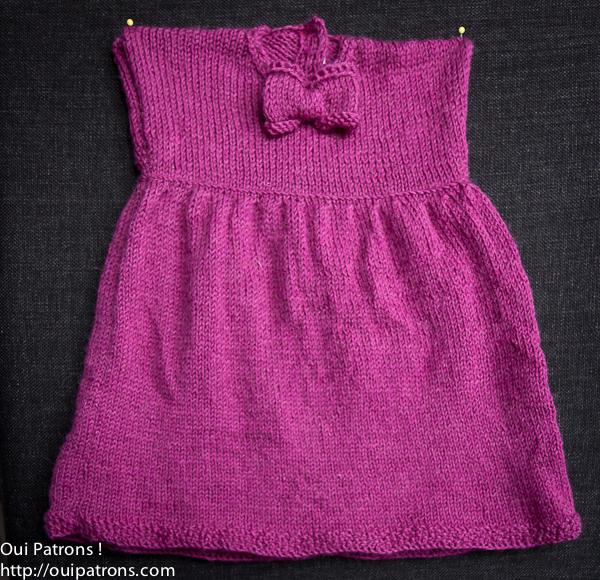 comment tricoter jupe pour bebe