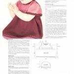 photo tricot modèle tricot jupe bébé 4