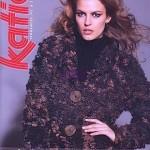 photo tricot modèle tricot katia écharpe 12