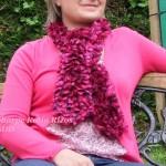 photo tricot modèle tricot katia écharpe