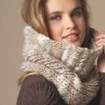 photo tricot modèle tricot katia écharpe 18