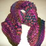 photo tricot modèle tricot katia écharpe 6