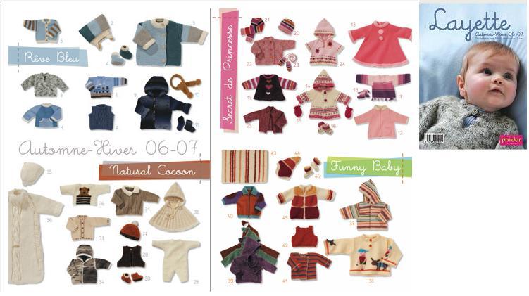 photo tricot modèle tricot layette phildar gratuit 11