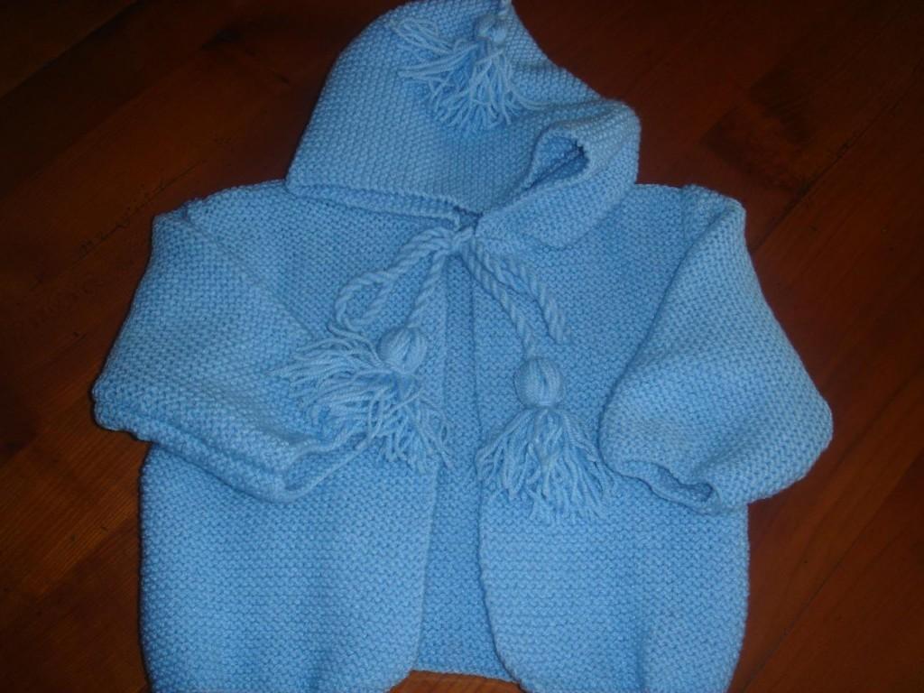patron tricot gratuit layette