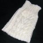 photo tricot modèle tricot manteau pour chien 11