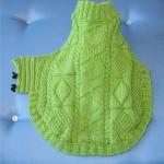 photo tricot modèle tricot manteau pour chien 8