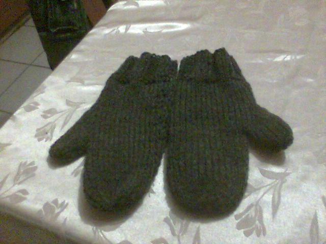 photo tricot modèle tricot moufles 15