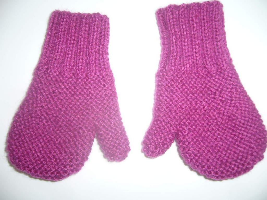 Photo tricot mod le tricot moufles 16 - Modele mitaine tricot facile ...